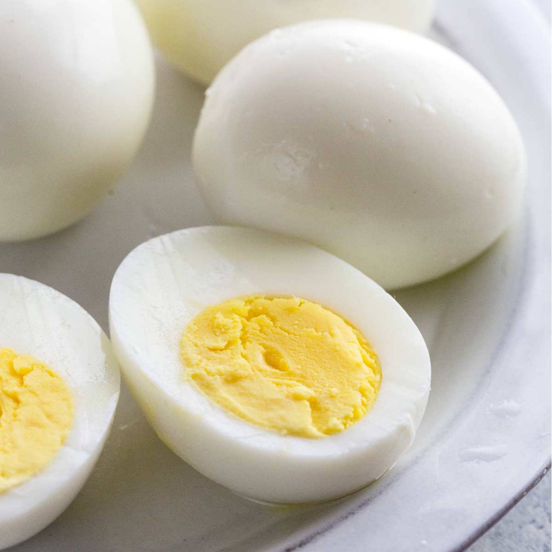 Simply Two Hard-Boiled Eggs